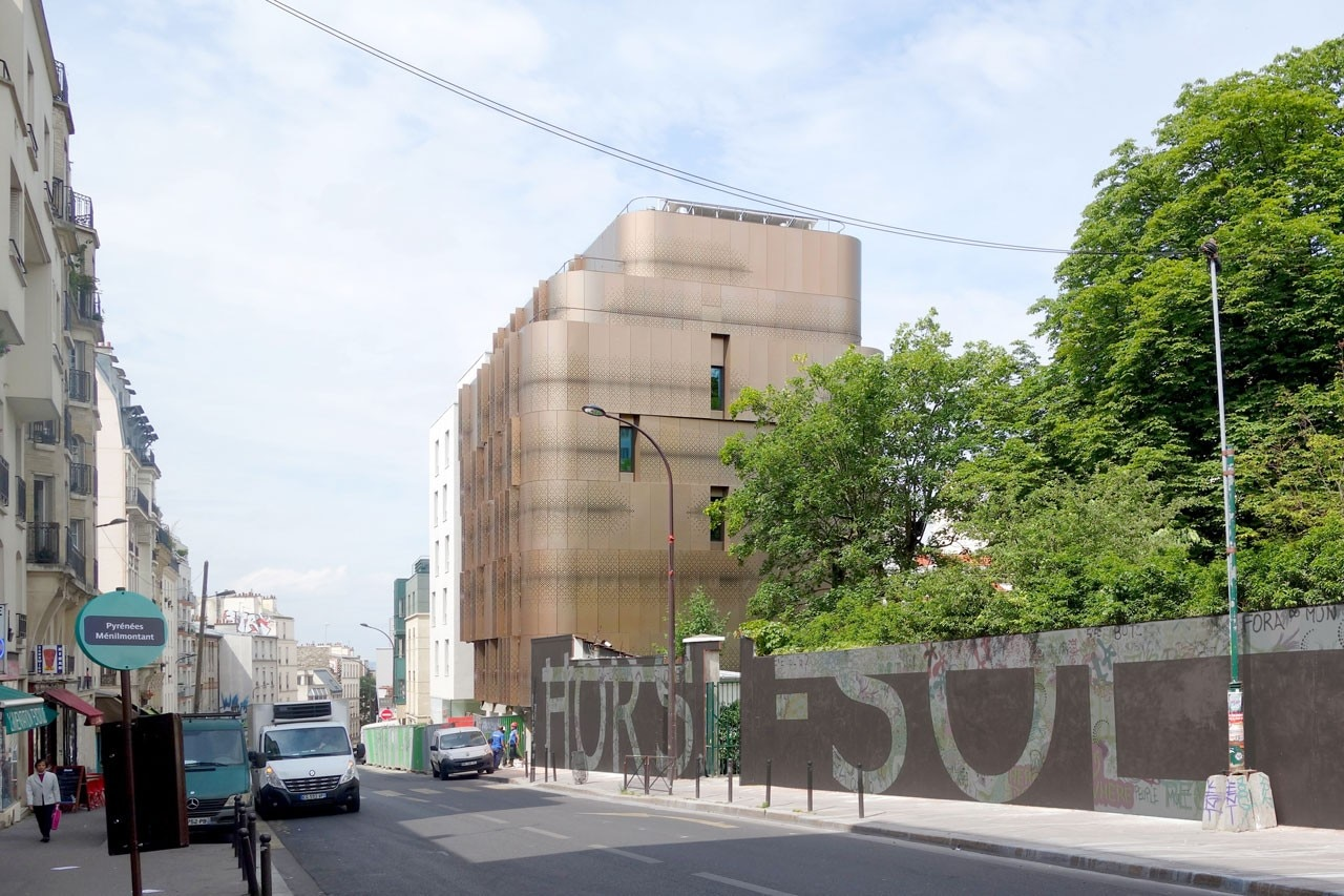 student housing in paris domus. Black Bedroom Furniture Sets. Home Design Ideas
