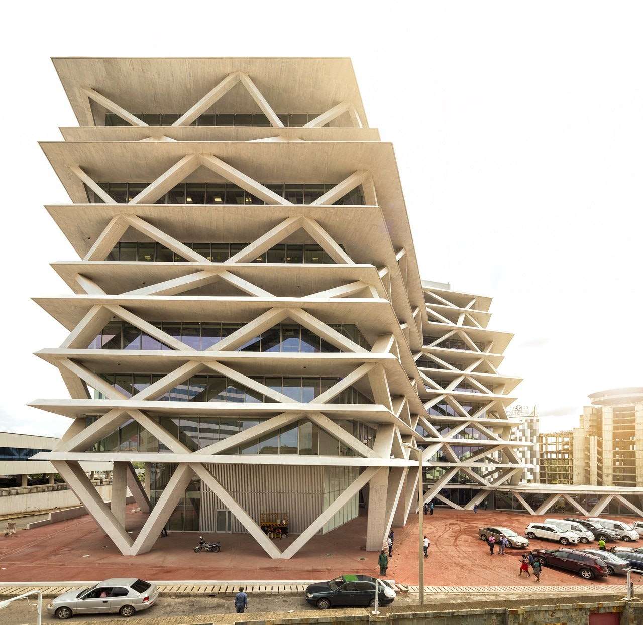 Mario Cucinella Architects, One Airport Square, Accra, Ghana