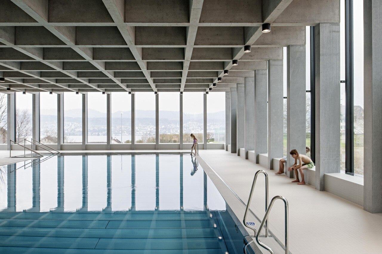 swimming pool allmendli domus. Black Bedroom Furniture Sets. Home Design Ideas