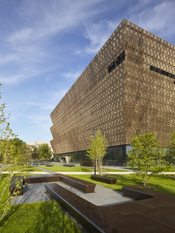David Adjaye, National Museum of African American History and Culture, Washington DC, 2016