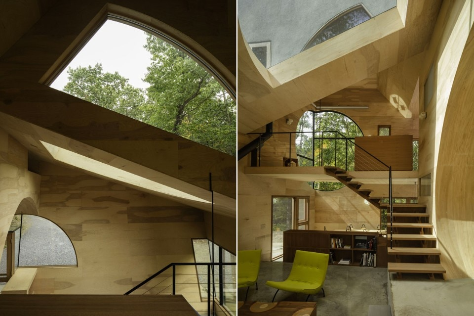 Steven holl ex of in house domus for Home holl