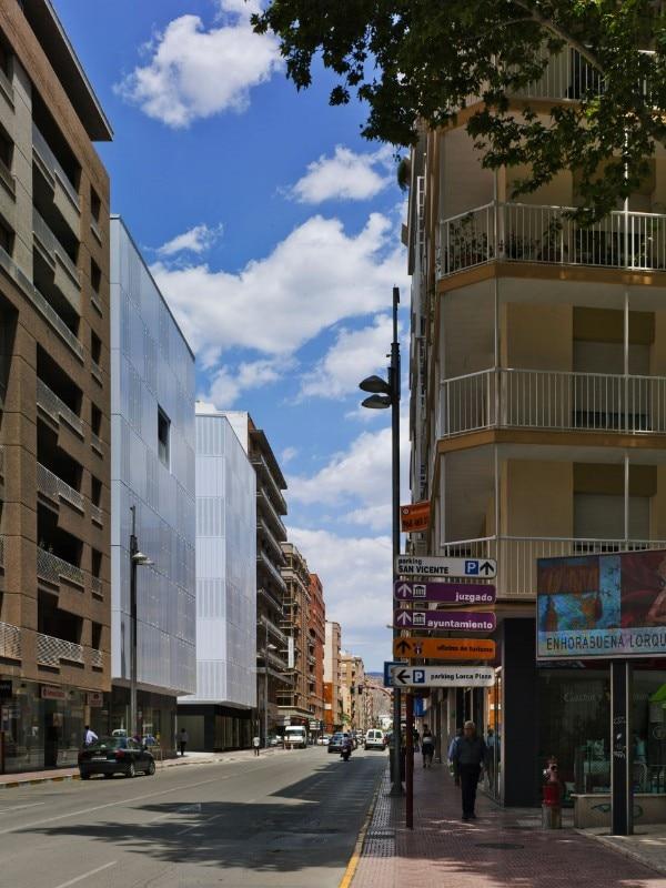 Residencial san mateo domus - Arquitectos lorca ...