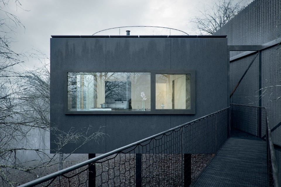 WOJR: Organization for Architecture, Mask House, Ithaca, NY