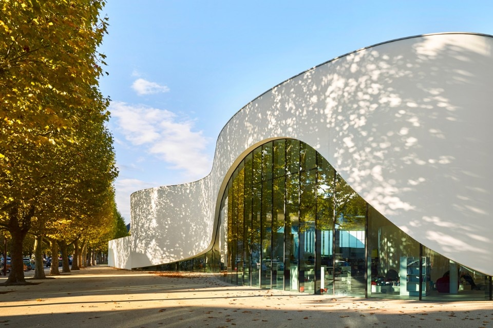 Dominique Coulon & associés, Media library (Third-Place) in Thionville, France, 2016