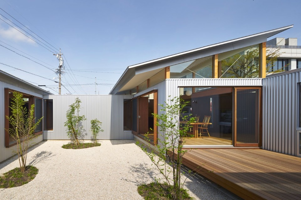 Arii Irie Architects, House with gardens and roofs, Hamamatsu, Japan, 125