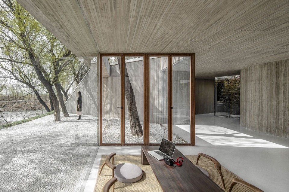 Archstudio, Waterside Buddhist Shrine, Tangshan, Hebei, China, 2017