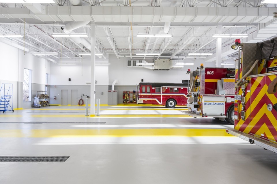 Img.9 STGM Architects + CCM2 Architects, Fire Station, Lévis, Canada, 2017
