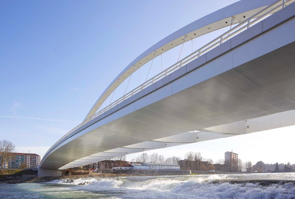 Richard Meier & Partners, Cittadella Bridge, Alessandria Italy, 2017