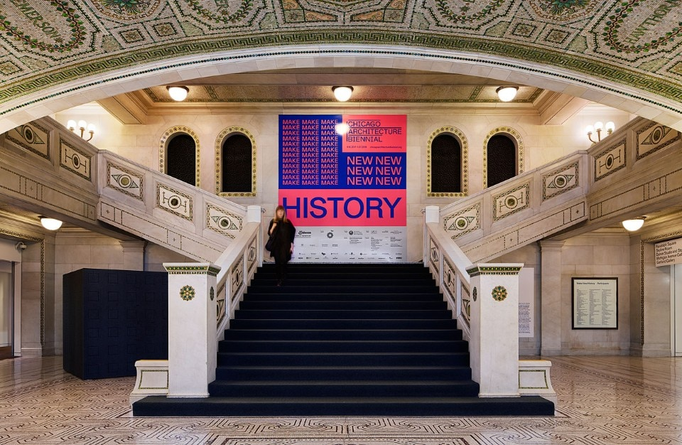 Installation view of the Chicago Cultural Center, 2017. Photo Kendall McCaugherty © Hall Merrick Photographers