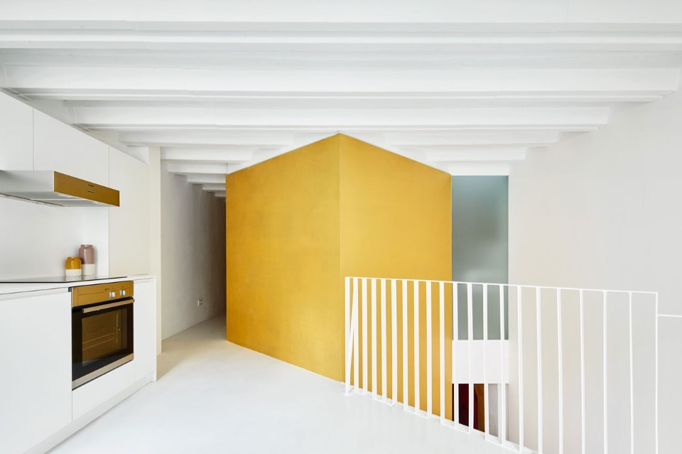 Raul Sanchez Architects, Duplex Tibbaut, Barcelona, 2017