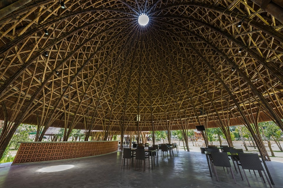 Fig.15 Vo Trong Nghia Architects, Son La Ceremony Dome, Son La City, Vietnam, 2017