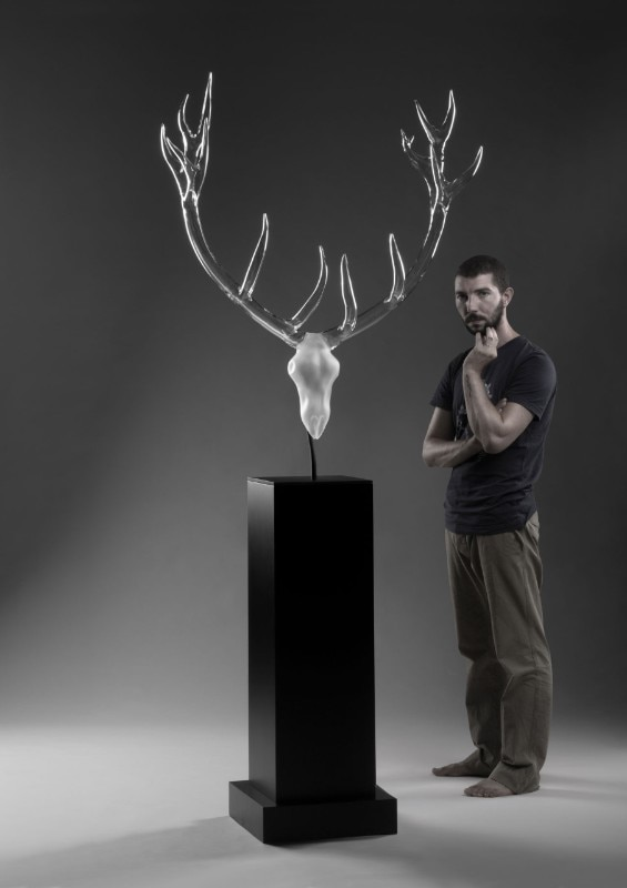 munich simone crestani s glass objects will be on show at ingo maurer s showroom during munich. Black Bedroom Furniture Sets. Home Design Ideas