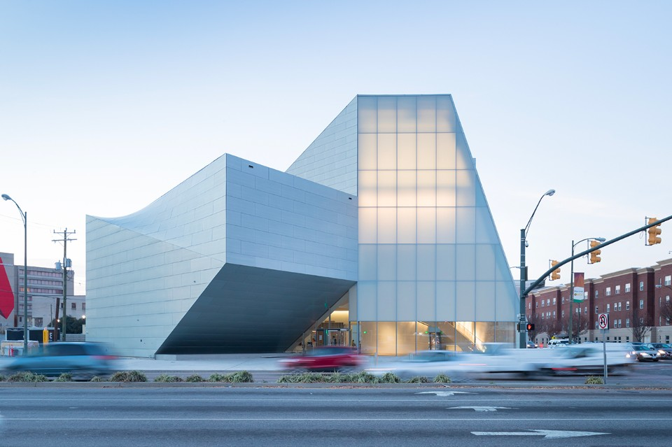Steven Holl Architects, Institute for Contemporary Art, Virginia Commonwealth University, Richmond, Stati Uniti, 2018