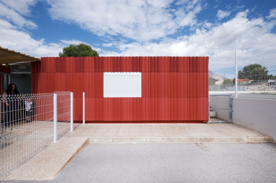 EBBA Architects, La Falda, school renovation, Alicante, 2018