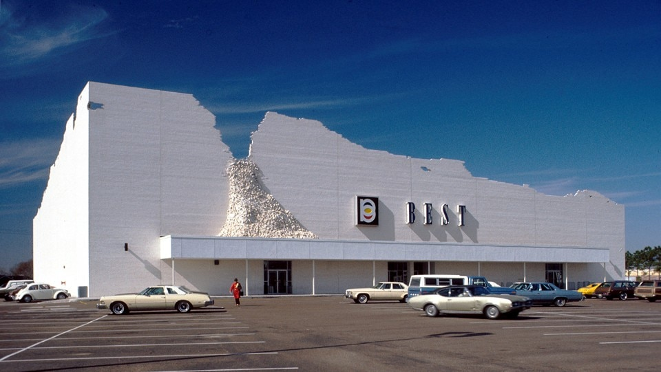 SITE, BEST - Indeterminate Facade, Houston, Texas, 1974