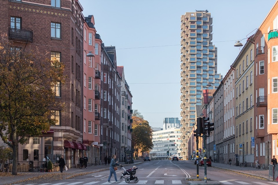 OMA, Innovationen tower at Norra Tornen, Stockholm, Sweden, 2018. Courtesy OMA and Oscar Properties. Photo Laurian Ghinitoiu