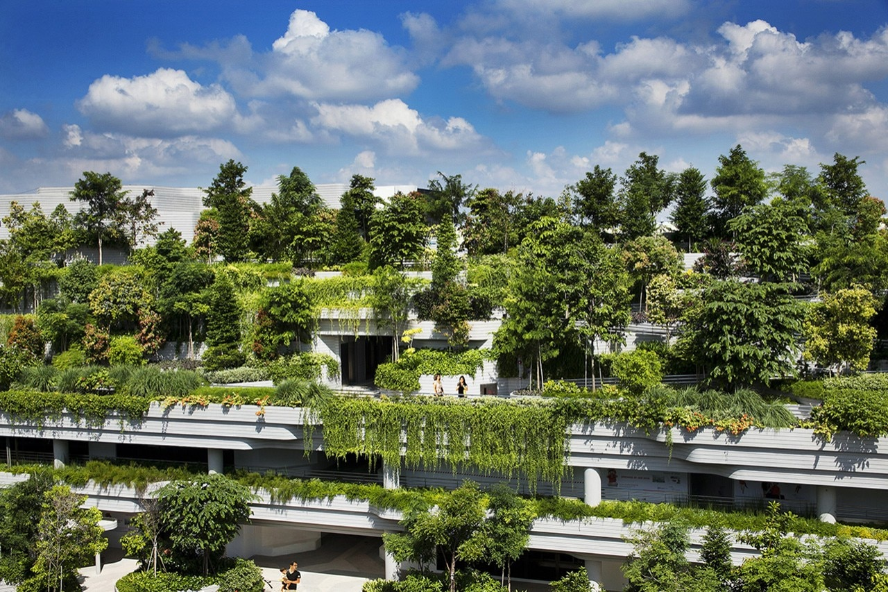 Kampung Admiralty By Woha Named World Building Of The Year