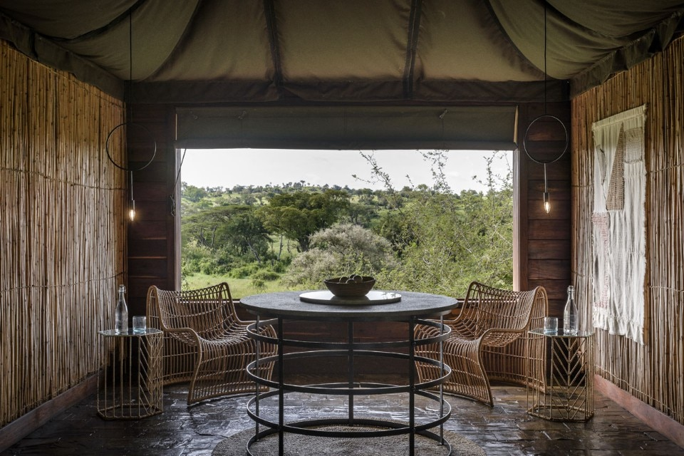 Singita's Faru Faru lodge in the Serengeti. Photo Adriaan Louw