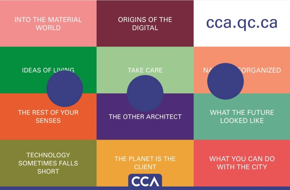 The CCA website is conceived of as a publication project: a platform on which themes that resonate with the work and mission of the CCA are examined, presented, and discussed