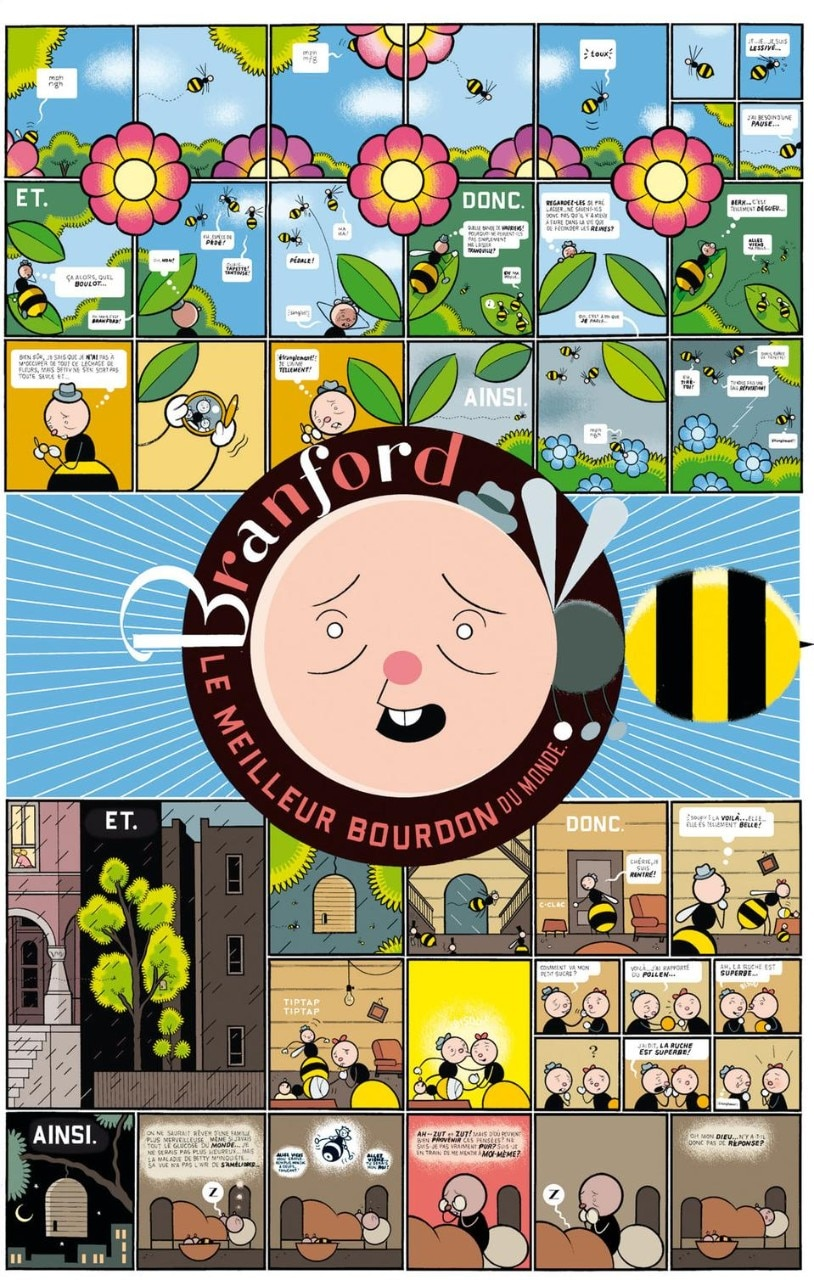 Chris Ware, <i>Building Stories; Branford, the Best Bee in the World</i>, 2003-2004