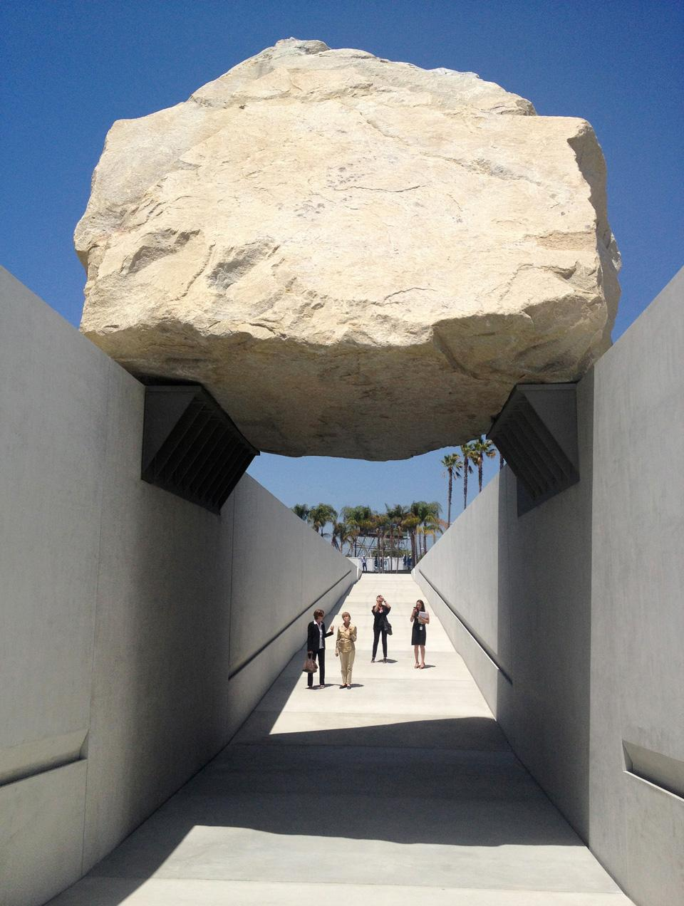 Land art reconsidered for Granite remnants los angeles ca