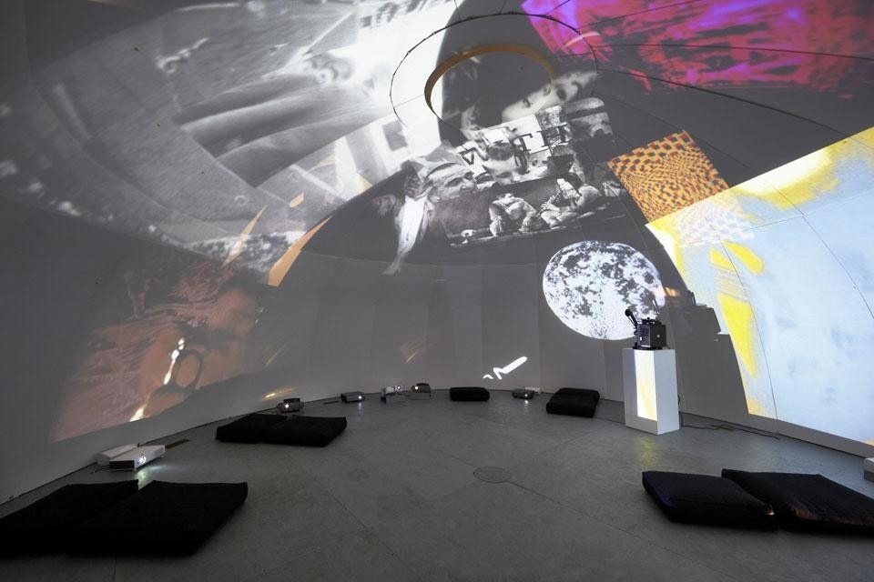 Stan VanDerBeek, <em>Movie-Drome</em>, 1963—66/2012