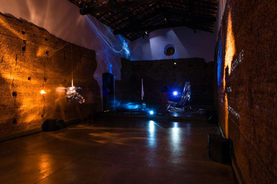 Maryanne Amacher, installation at the Morumbi chapel