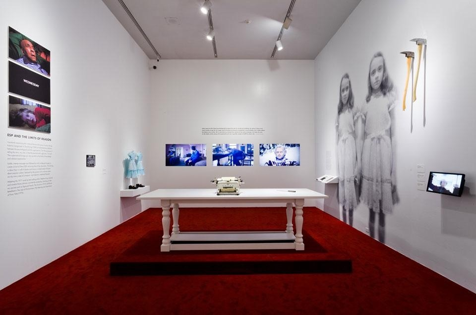 <em>Stanley Kubrick</em>, installation view at the LACMA. Photo by Museum Associates/LACMA