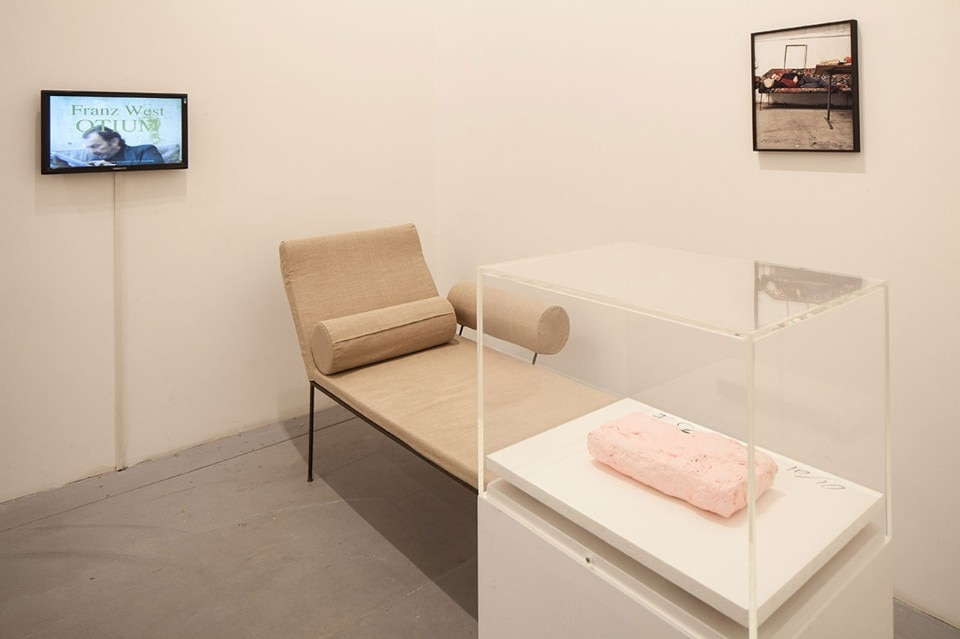 Franz West, <i>Various works</i>, 1973-1978. Mixed materials. Photo Francesco Galli