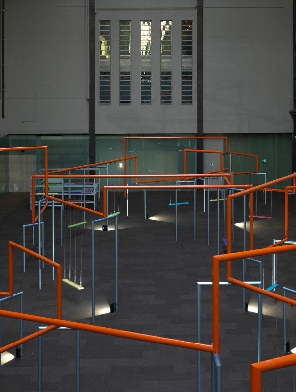 Img.7 Superflex, One Two Three Swing!, installation view, Tate Modern, London, 2017