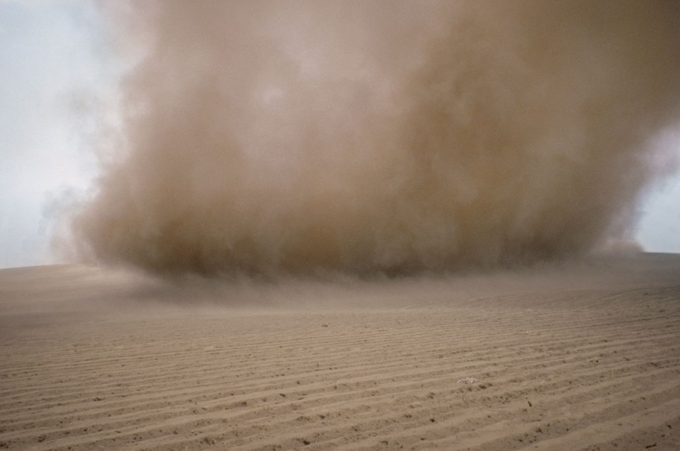 """Beirut  """"Knots'n dust"""" is Francis Alÿs' first solo show in the"""