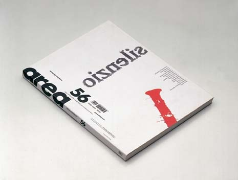 One of his later project was an identity for the magazine <i>Area</i>