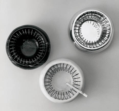 1971 Spirali ashtray (Alessi, 1984)