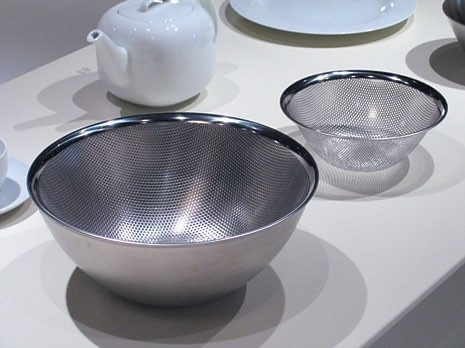 Bowl and sieve, Sori Yanagi