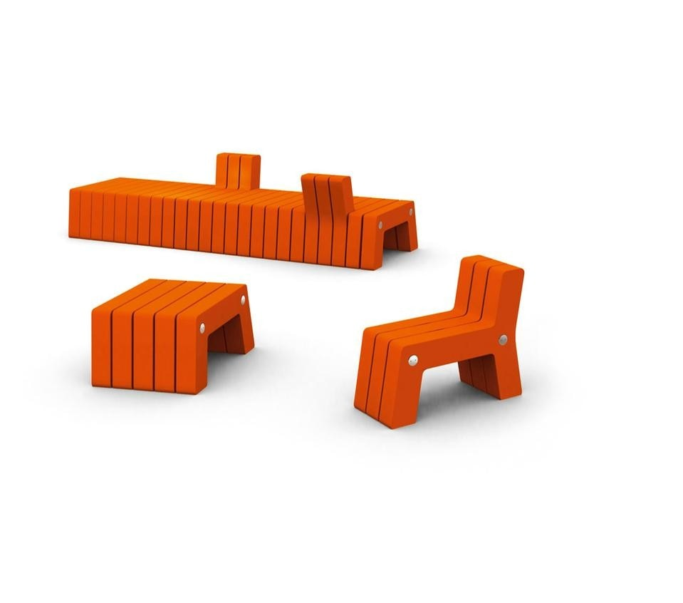 Asobi, Urban furniture system