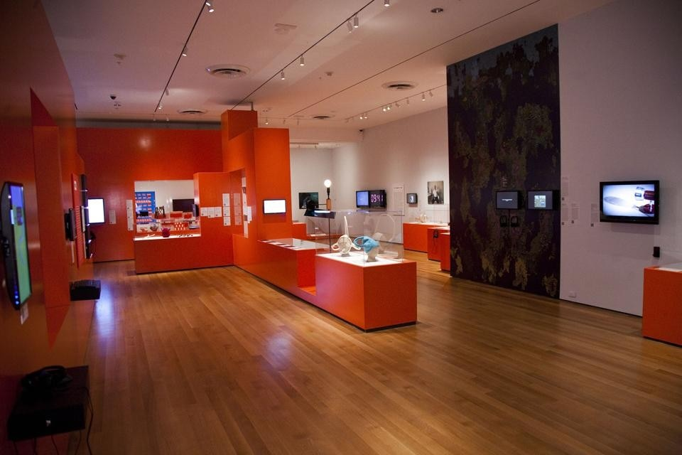 Installation view of <i>Talk to Me: Design and the Communication between People and Objects</i> at The Museum of Modern Art, 2011. Photo © Scott Rudd.