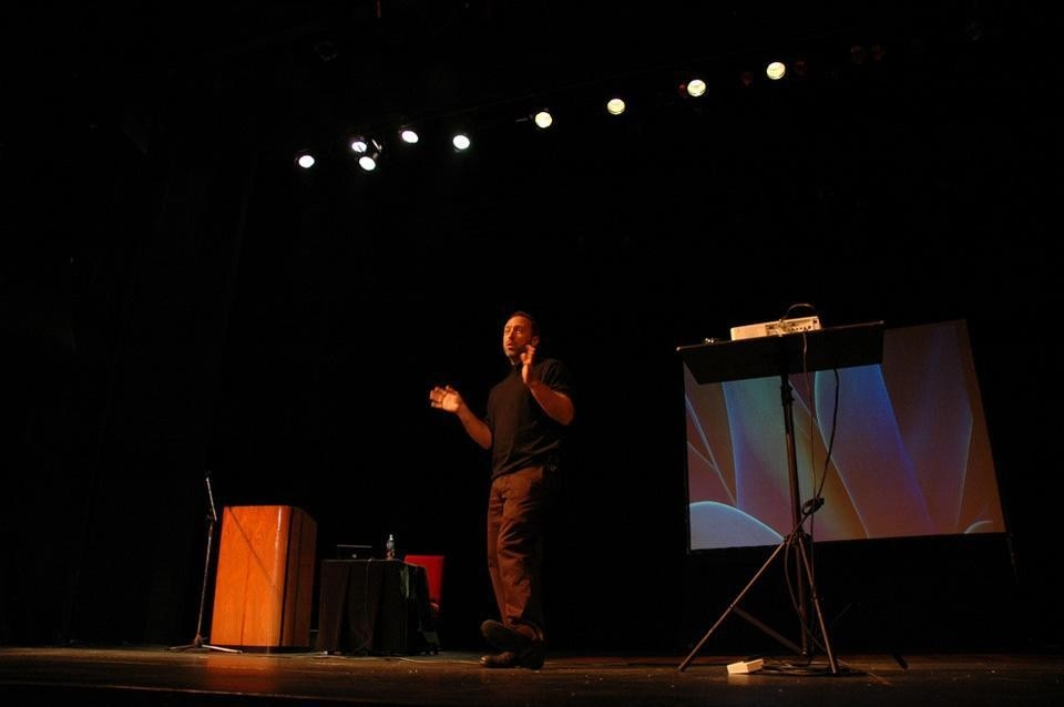 Jimmy Wales' <i>State of the Wiki,</i> Wikimania 2009, Buenos Aires.