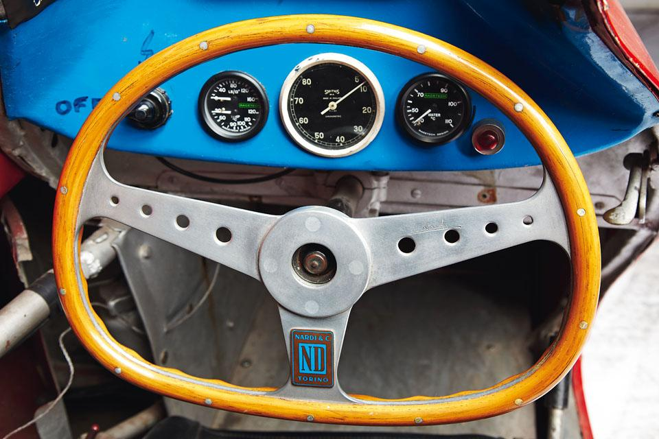 The lower half of the