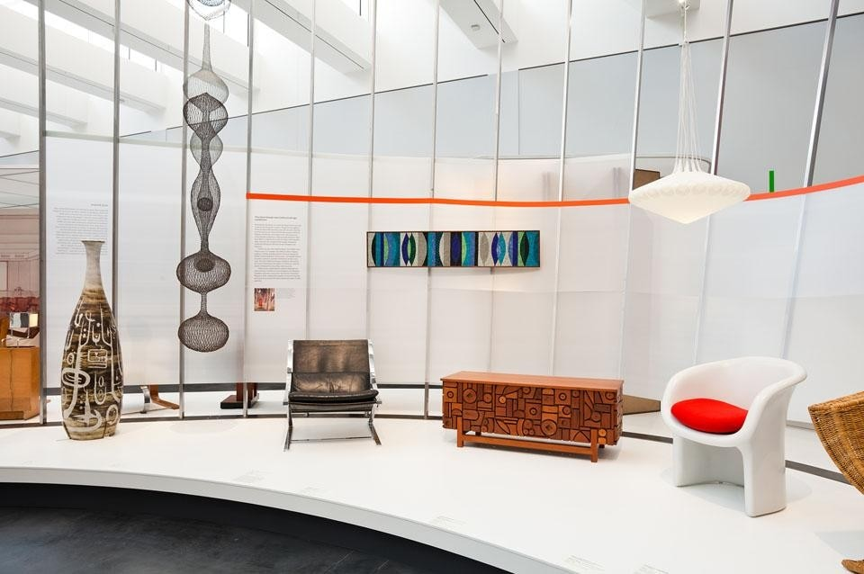 "<i>California Design, 1930–1965: ""Living in a Modern Way,""</i> Los Angeles County Museum of Art,  installation view. Photo © 2011 Museum Associates/LACMA."