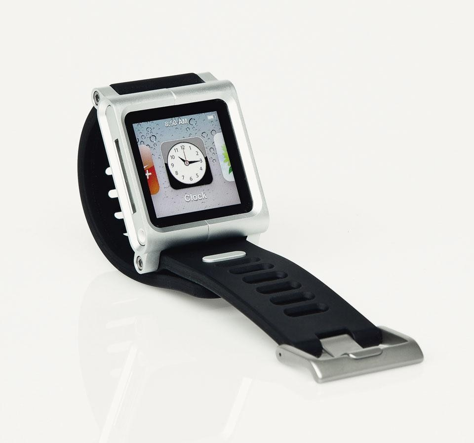 Scott Wilson, <em>TikTok+LunaTik Multi-Touch</em>, a kit to use the iPod nano as a watch,