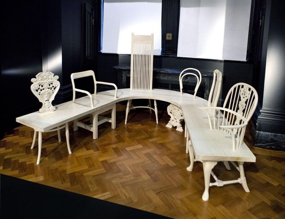 Gitta Gschwendtner, Chair Bench, At The Dr Susan Weber Gallery, Victoria  And Albert