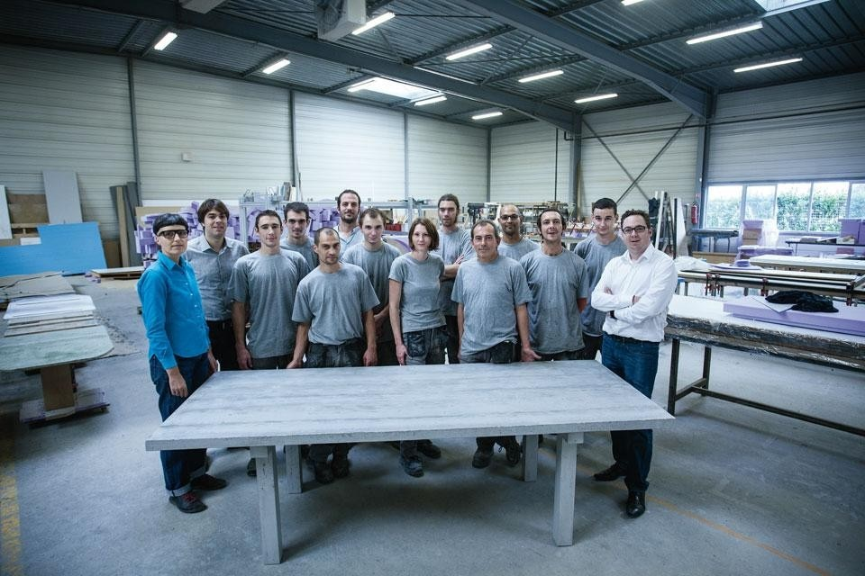 The team of Concrete by