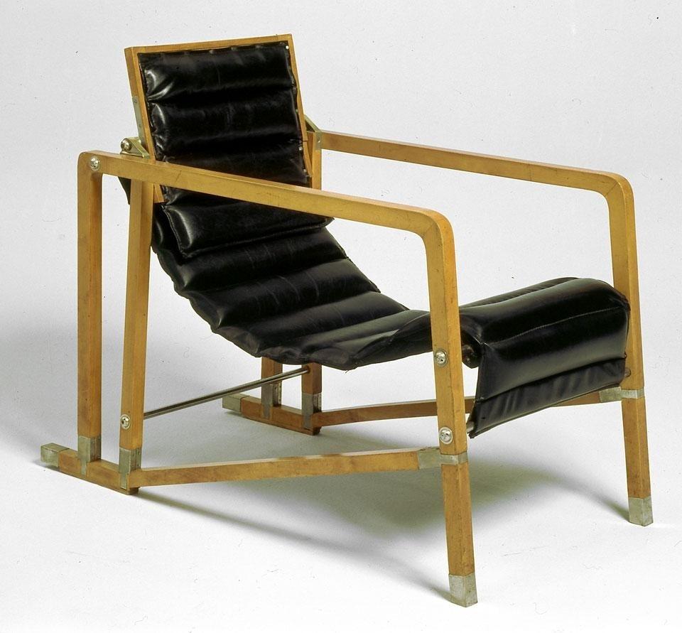 eileen grey furniture. Eileen Gray: Transat Chair Grey Furniture
