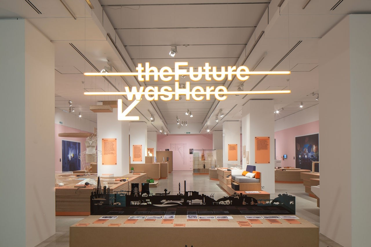 Exhibition Booth London : The future is here domus