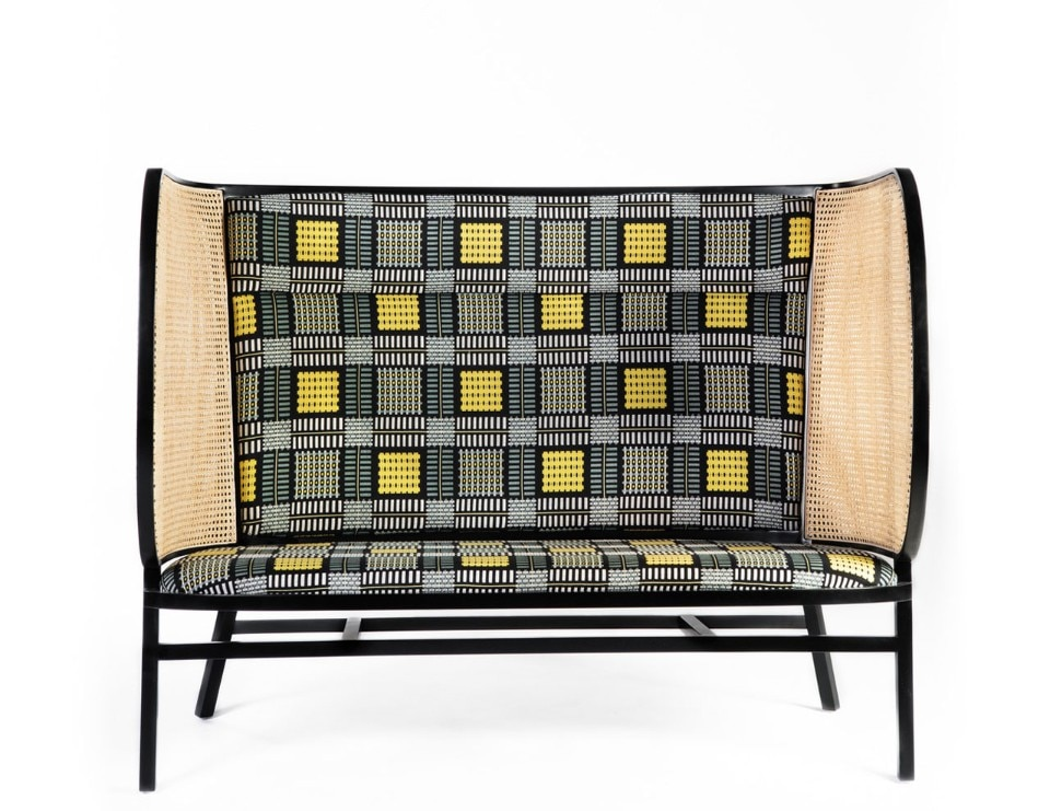 Front, Hideout Loveseat for Gebrüder Thonet, 2017
