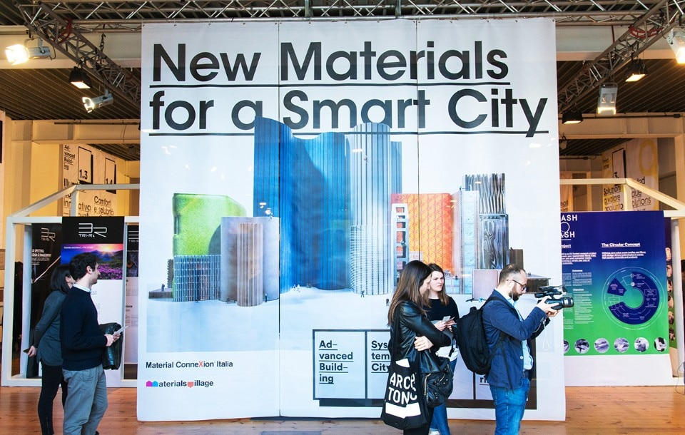 Materials Village and Smart City, by Material ConneXion Italia, 2017