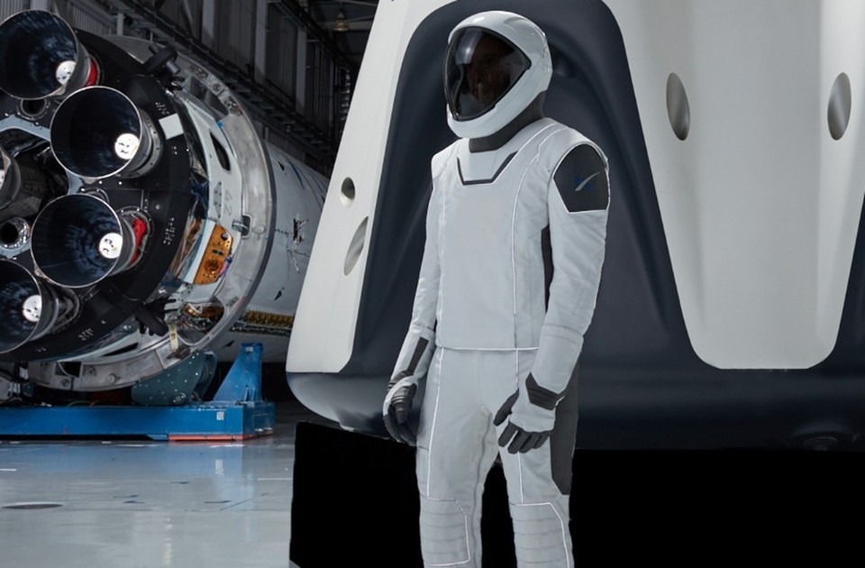 The new spacesuits of SpaceX Crew Dragon