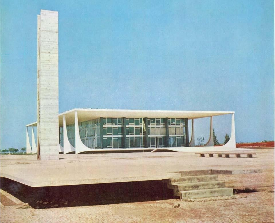 In the Plaza of the Three Powers, the