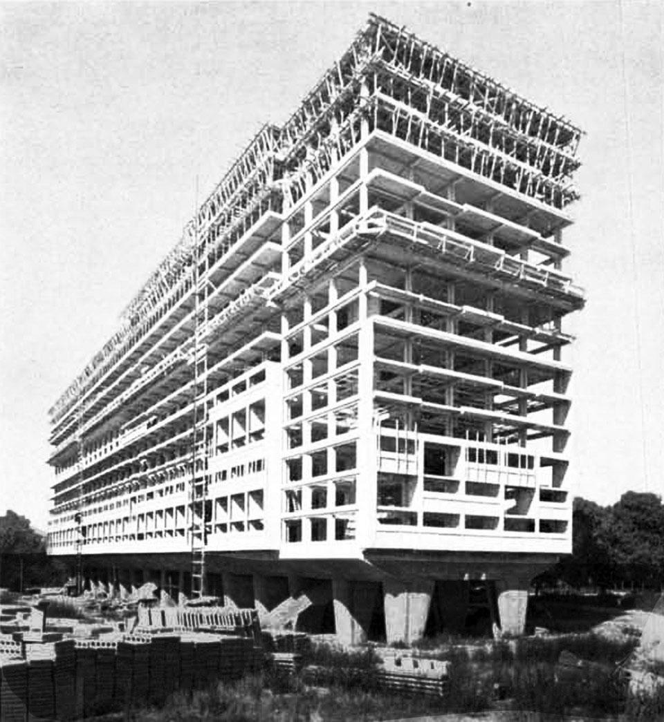 Le Corbusier Unite D Habitation corbusier's cité radieuse - domus