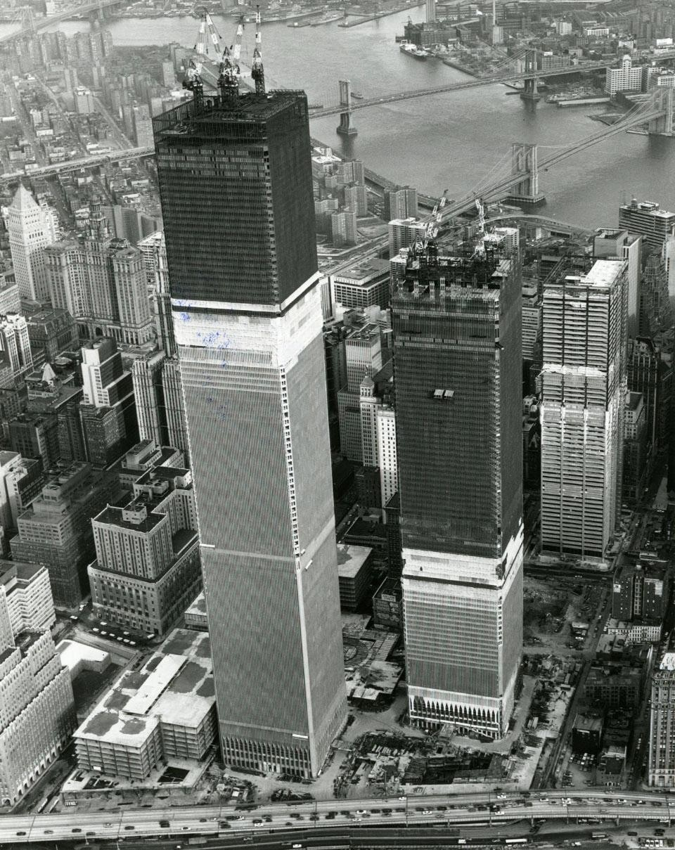 The World Trade Center, New York, from Domus 524/July 1973.